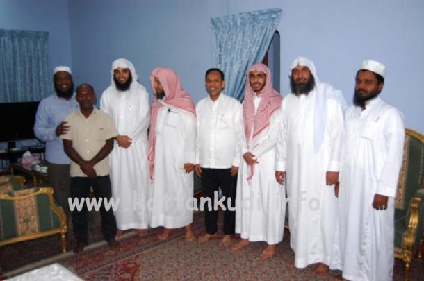 Saudi Ulama Visit (2)